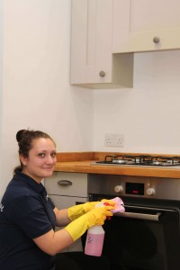 EOT kitchen cleaning