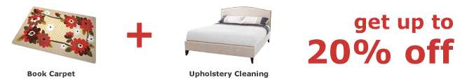 Deal Carpet Cleaning + Upholstery / Sofa Cleaning