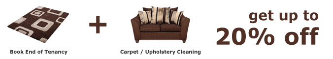 Deal - End of Tenancy + Carpet / Upholstery Cleaning