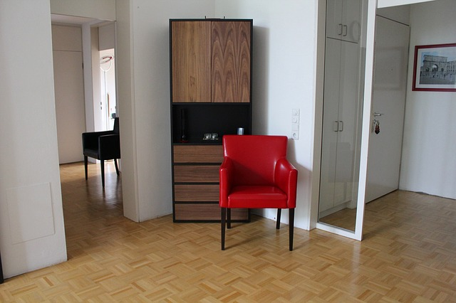 The last step of your end of tenancy cleaning should be polishing tiles and hardwood floors.
