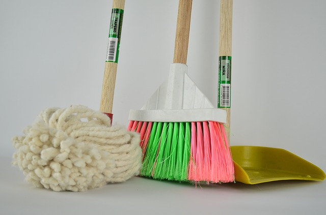 You shouldn't be charged for the cleaning tools and supplies.
